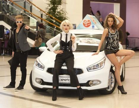. Madonna, Beyonce and Justin
