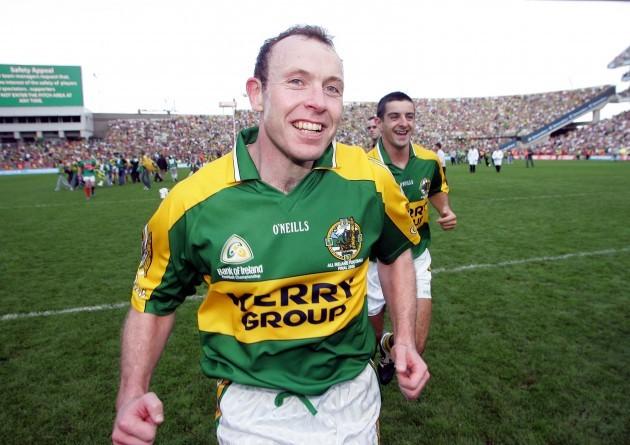 Seamus Moynihan winning the All Ireland Football Final 17/9/2006