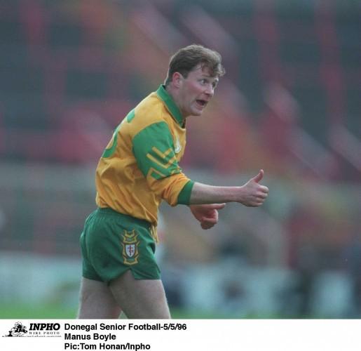 Donegal Senior Football 5/5/96 Manus Boyle