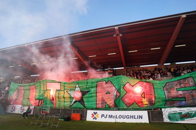 The Shamrock Rovers 'Ultras'