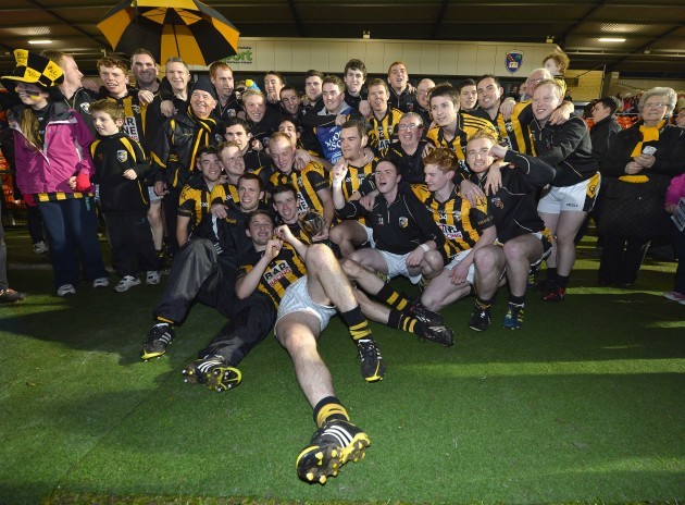 The Crossmaglen team celebrate winning 20/10/2013
