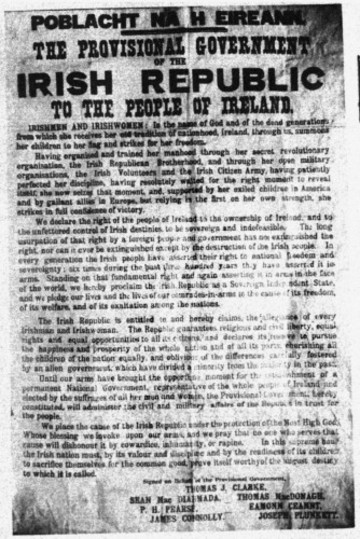 Ireland & Independence - The Easter Rising - 1916