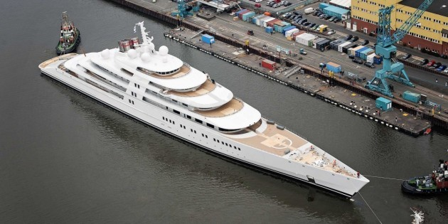 not a boat it's a yacht