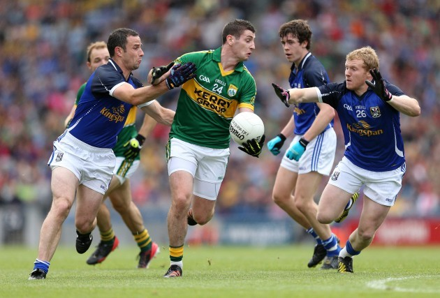 Damien Reilly and James McEnroe with Paul Geaney