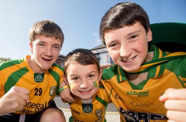 Eoin Bradley, Bradley Boyle and Oisin Bradley