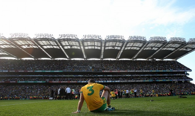 Neil McGee dejected