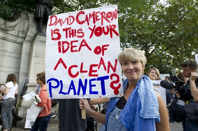 The People's Climate March - London