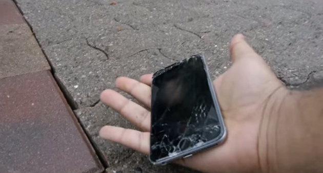 People are doing drop tests with the new iPhone 6 · The
