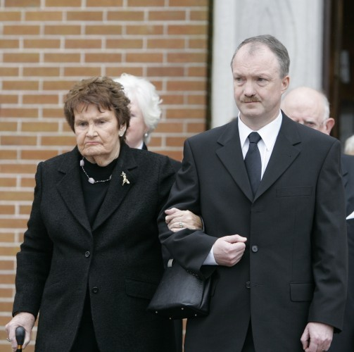 John Mulhearn Funeral Scenes