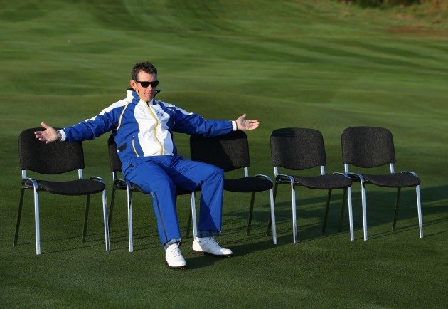 Golf - 40th Ryder Cup - Practice Day One - Gleneagles