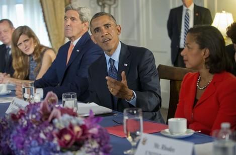 Obama Syria Airstrikes