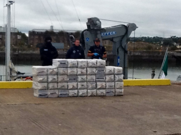 This is what a tonne of cocaine looks like · TheJournal ie