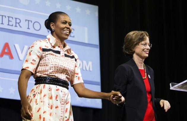 Michelle Obama Georgia