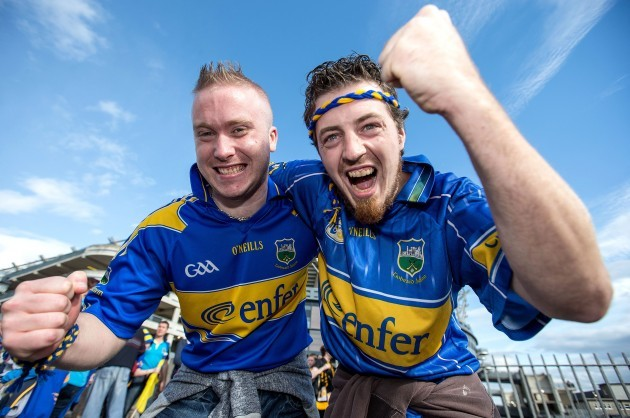 Cormac Flannelly and Pa Hanley