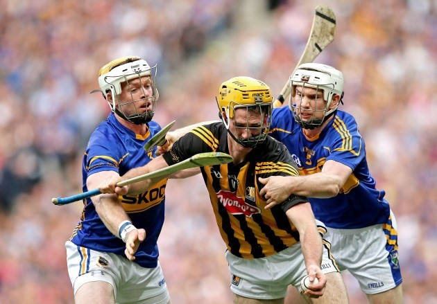 Brendan Maher and Padraic Maher with Colin Fennelly