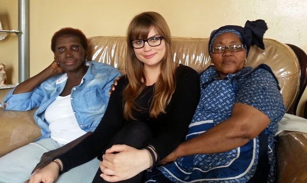 Xoliswa, Bertha & I