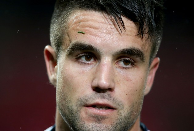 Conor Murray dejected after the game