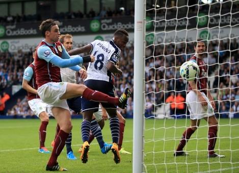 Soccer - Barclays Premier League - West Bromwich Albion v Burnley - The Hawthorns