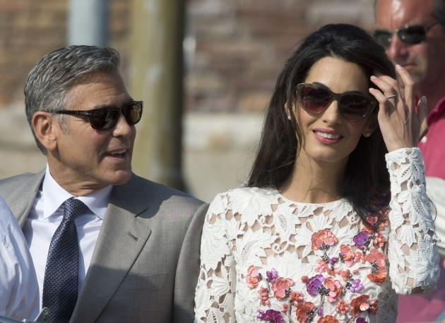 Wedding of George Clooney and Amal Alamuddin - Venice