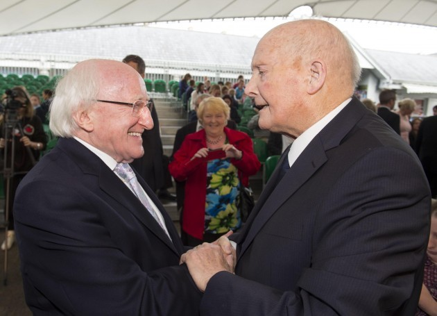 President of Ireland, Michael D Higgins, awarded Freedom of Limerick