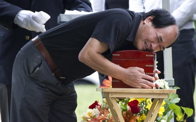 Torso In Trash Funeral