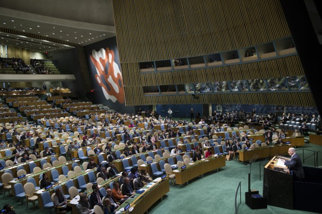 UN General Assembly Israel