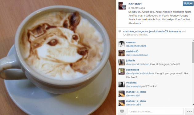 This guy's latte art is the best you'll ever see · The Daily