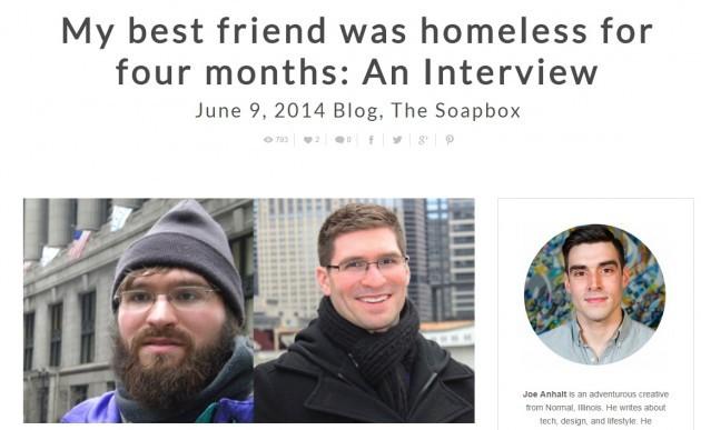 homeless rich hebron