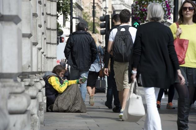 Homeless stock
