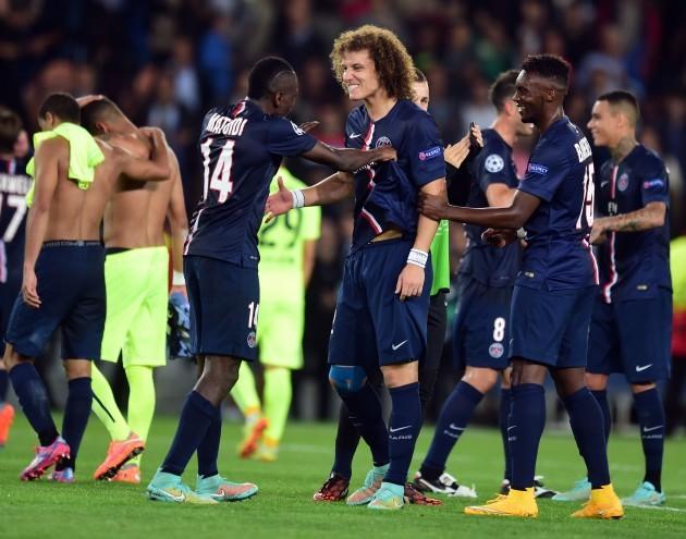 Soccer -  UEFA Champions League - Group F  - Paris St-Germain v Barcelona - Parc des Princes