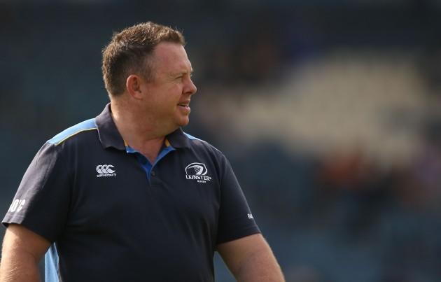 Leinster head coach Matt O'Connor