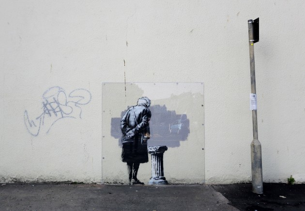New Banksy artwork - Folkestone