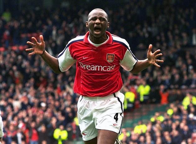 Arsenal v Spurs Vieira