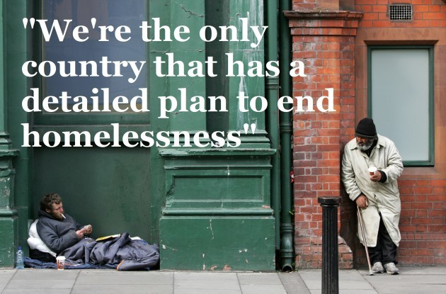 File photo: Dublin Simon say ending long-term homelessness by 2016 is unachievable