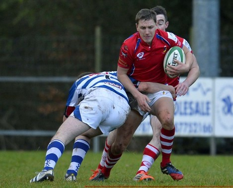 Shane Airey in action