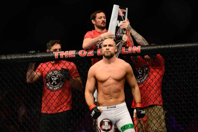 Cathal Pendred before the fight