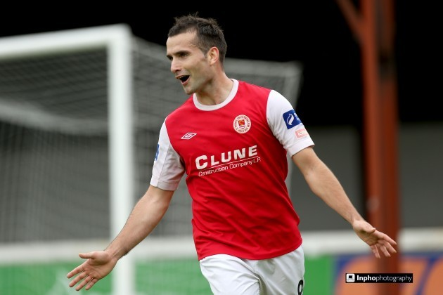 Christy Fagan celebrates scoring