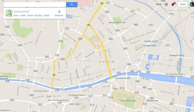 google maps apple