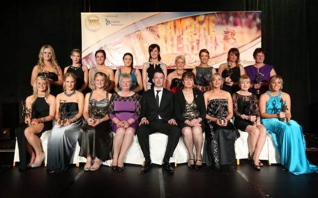 2013 Camogie All Stars award winners