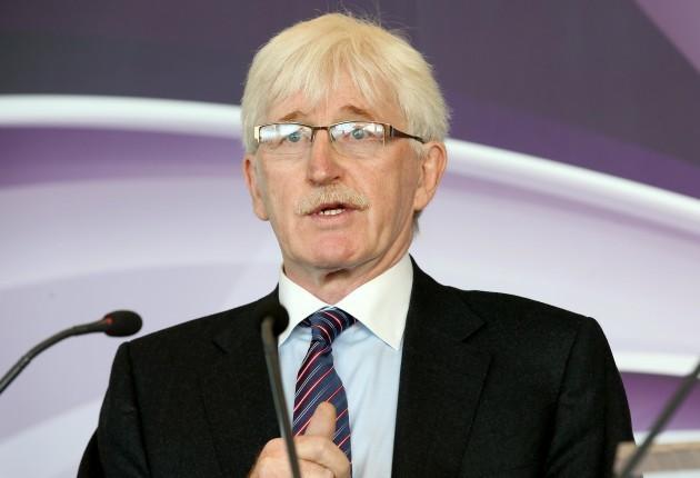 Paul McNaughton speaking at the launch