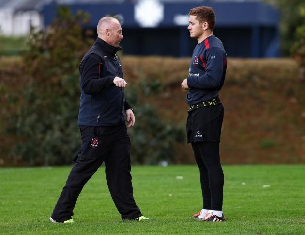 Neil Doak talks to Paddy Jackson