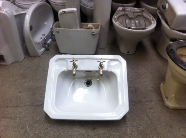 modern sink salvage