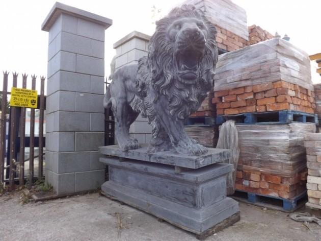 limestone lion