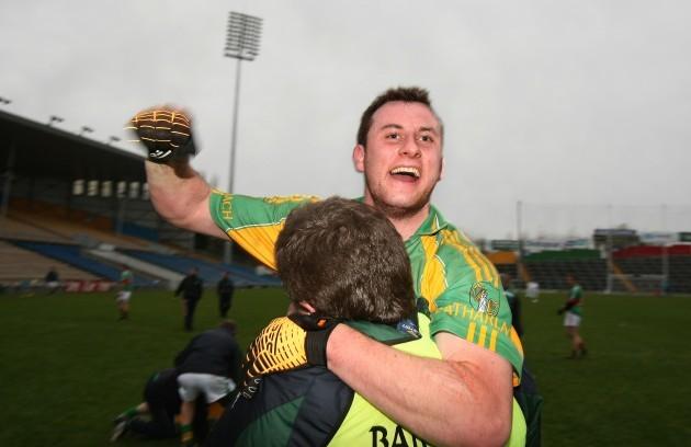 Cathal Dillon celebrates