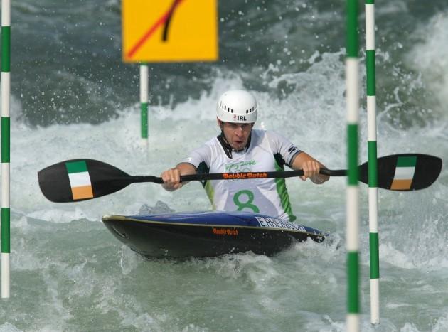 Eoin Rheinisch on his way to finishing 4th