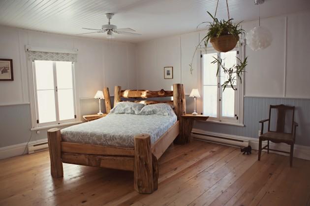 Quebec, Canada - bedroom