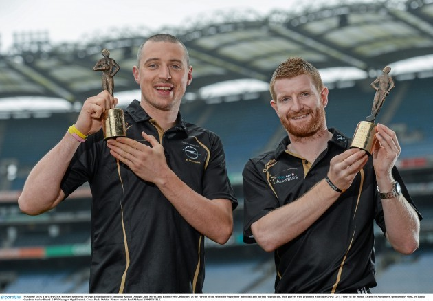 GAA / GPA Player of the Month Awards, sponsored by Opel, for September