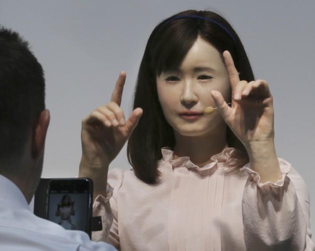 Japan CEATEC Robots