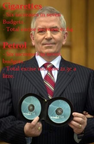 Charlie McCreevy Irish budget