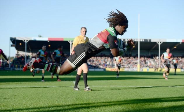 Rugby Union - Aviva Premiership - Harlequins v London Welsh - Twickenham Stoop